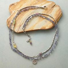 SUNLIGHT AND SKY NECKLACE