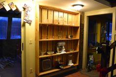 My new rough cut shelves.