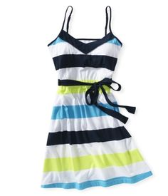 Striped Tank Dress...mine