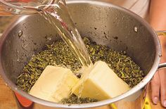 How To Make Butter With Medical Marijuana : Makes 2 ounces of cannabis leaf trim or pound of unsalted butter (salted or sweet cream butter if quarts of water, ounces results in maximum strength Weed Recipes, Marijuana Recipes, Cooking Recipes, Recipies, Pork Recipes, Fall Recipes, Healthy Recipes, Weed Butter, Marijuana Butter