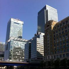 Canary Wharf, London. #canarywharf #london