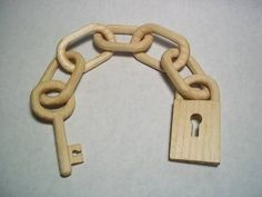 Wooden Chain *Tutorial added! Carve your own!* - MISCELLANEOUS TOPICS