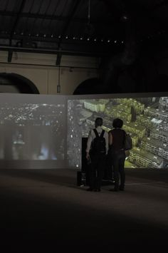 """Exhibition """"Paradise"""" during the Rencontres Internationales Paris/Berlin/Madrid in Madrid at the Tabacalera, May 23-29, 2011."""