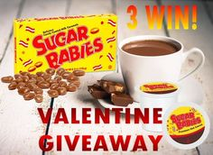 Sugar Babies Valentine Giveaway #CandyInYourCup Ends 2/6 | Michigan Saving and More http://www.michigansavingandmore.com/sugar-babies-valentine-giveaway-candyinyourcup-ends-26/