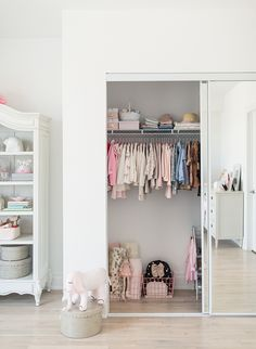 A Girly Girl's Nursery Turned Bedroom - Inspired By This