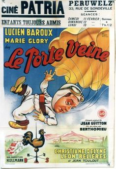 Le Porte Veine - Vintage movie poster