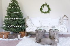 Simply festive.