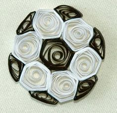 quilling football - Google Search