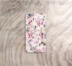 Fall iPhone 6 Case Fall Floral iPhone 6 Plus Case by casesbycsera
