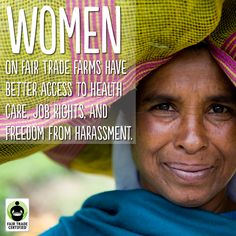 #FairTrade gives women a voice in a sector where many are invisible. Repin this to take a stand. #womensday