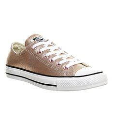 Converse All Star Low Leather Rose Gold Exclusive - Unisex Sports 080412f6a9db