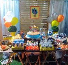 Amazing Gumball, Cartoon Posters, World Of Gumball, Cake, Desserts, Birthday Ideas, Party Ideas, Disney, Amazing World Of Gumball