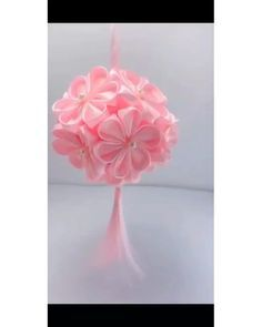 Paper Flowers Craft, Paper Crafts Origami, Flower Crafts, Diy Flowers, Fabric Flowers, Diy Crafts Rose, Flower Paper, Organza Flowers, Diy Crafts Hacks