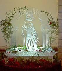 Ice sculptures Ice Sculpture Wedding, Ice Images, Ice Land, Wedding Ceremony, Wedding Day, Snow Sculptures, Ice Ice Baby, Snow And Ice, Wedding Planning