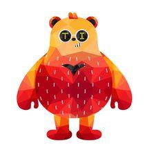 Red bear #brian #테디아일랜드 #캐릭터 #피규어 #피규어스타그램 #테지움서울 #일상 #일상스타그램 #덕질 #덕후스타그램 #곰  #캐릭터  #character #dance  #댄스스타그램 #polygon #폴리곤스타그램