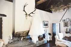 After a romance that took them to Oz and back, Cathy and Keith planned a personalized bash for their family and friends in Ballybeg House! Oversized Mirror, Cool Stuff, House, Wedding, Furniture, Home Decor, Valentines Day Weddings, Decoration Home, Home