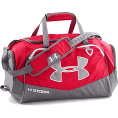 77f2af04f02f Under Armour Red Graphite UA Undeniable Small Duffel