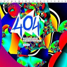 "✨ Weekend shorts 4 / Один из вариантов страницы 404 для студии ""Grand Track Records"" #inarts #incredible #graphicdesign"