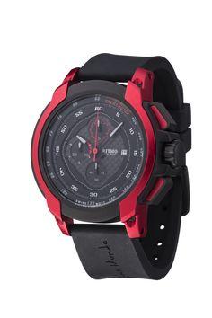 Quantum I Red 50mm Sport Swiss Chronograph