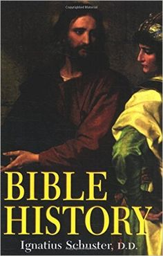 Bible History: Of the Old and New Testaments: Rev. Fr. Ignatius Schuster D.D.: 9780895550064: Amazon.com: Books