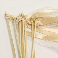 wedding-ribbon-wands Wedding Ribbon Wands, Make It Simple, Gifts, Decor, Decoration, Presents, Decorating, Dekoration, Favors