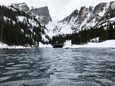 Standing on Dream Lake in Rocky Mountain National Park Colorado [OC] [38132860] #reddit
