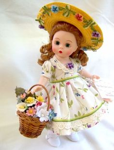 Madame-Alexander-MARY-MARY-QUITE-CONTRARY-8-034-Doll-VERY-RARE-1-YEAR-ONLY