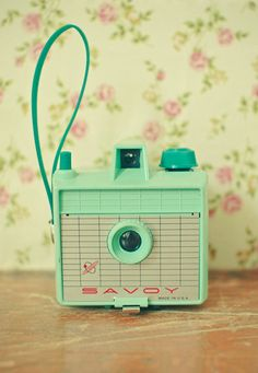 Vintage Mint Camera - Savoy