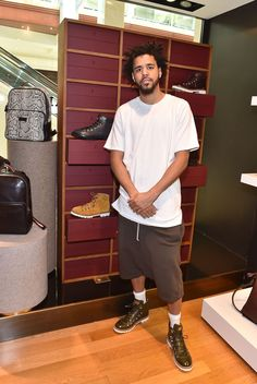 "J. Cole attends ""J. Cole For Bally Cocktail"" in Atlanta, GA"