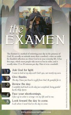 The Examen by Ignatius Loyola