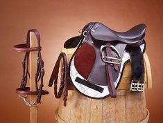MIniature Horse ~ Miniature Donkey or Mule 12 English Saddle Package