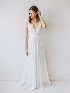 """Truvelle """" Cambie"""" wedding gown"""