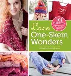 My Broomstick Lace Scarf pattern is in this book!