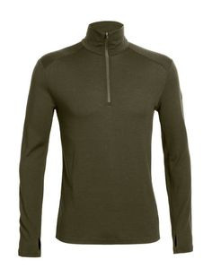 Tech Top Long Sleeve Half Zip | The men's Tech Top Long Sleeve Half Zip is a winter sports MVP. Built from our highly insulating 260gm merino fabric, it keeps your body warm but remains breathable and amazingly soft when worn as a baselayer, or alone on long hikes in the high mountains. With set in sleeves, forward side seams and offset shoulder seams, it won't chaffe when you work out or under a pack, and the drop tail hem provides a little extra coverage against chilly air. If you really…