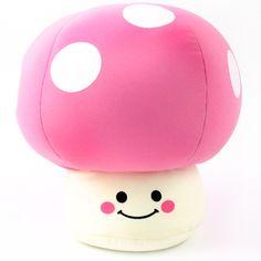 Sugar Hotel Mushroom Cushion M: Pink
