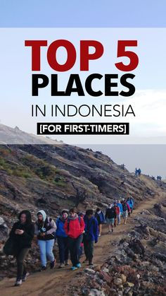 Peek Holidays-Top 5 places to visit in Indonesia for first-timer. If you are not, there is no harm to check it out, too! :)