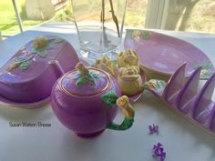 Vintage China, Vintage Tea, Tea Cup Saucer, Tea Cups, China Teapot, Carlton Ware, Breakfast Set, Delicious Sandwiches, Chocolate Pots