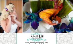 The Turtle Club | Naples Wedding Photographer | Jamie Lee Photography | Bride Getting Ready Putting on Earrings