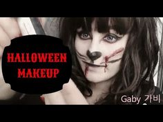 Halloween makeup (2015) - Crazy cat #cute #kawaii #halloween #makeup #halloweenmakeup #cat