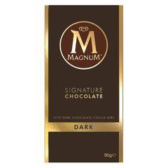 5d1a504d8 A box of 18 Magnum Dark Chocolate Blocks. Chocolate Brands
