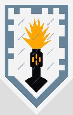 LEGO NEXO Knights Power - Lance - Flash Cannon |spyrius.org