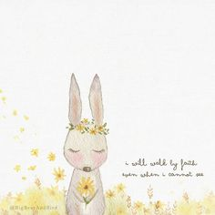 Where hope grows, miracle blossoms. Keep your faith strong! Good night  - a #quickdoodle before bed -#bearbirdinspiringquote#doodle#faith#qotd#quotesoftheday#instaquotes#watercolor#watercolour#illustration#watercolorillustration#cutedrawing#whiteaddict#whitecultural#bigbearandbird#cute#happy#instagram#bunny#rabbit#sunflower