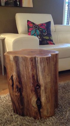 LARGE Wood Stump  Side Tables, End Tables, Coffee Tables,Rustic Furniture, Eco-Friendly Furniture, Reclaimed Wood Tables,Rustic Coffee Table, Log  Furniture,Tree Trunk Coffee Tables http://serenitystumps.com/