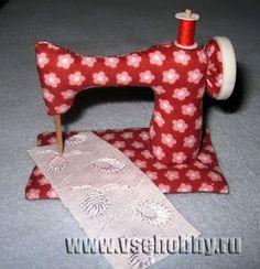 Mimin muñecas: Máquina de coser para Tilda