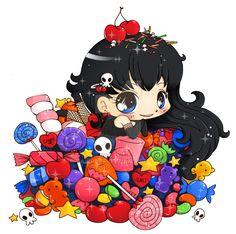 """Résultat de recherche d'images pour """"chibi candy"""""""