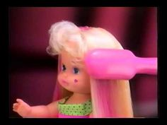 The Lil Miss Magic Hair Commercial by Mattel. Spice Girls Dolls, Girl Dolls, Childrens Dolls, 90s Toys, Magic Hair, 90s Childhood, Cool Toys, American Girl, Growing Up