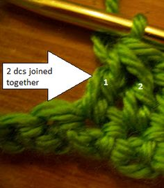 Crochet Stitch Guide Dc2tog : ... crochet parfait you tube see more 1 melissa conatser crochet tutorials