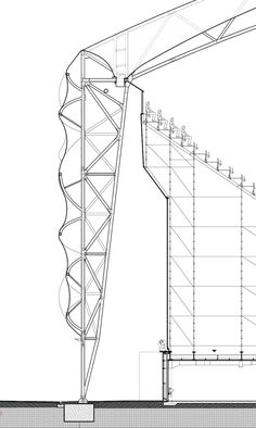 London basketball arena god is in the details stadium architecture, archite Stadium Architecture, Architecture Panel, Concept Architecture, Architecture Details, Temporary Architecture, Drawing Architecture, Architecture Student, Architecture Portfolio, Shell Structure
