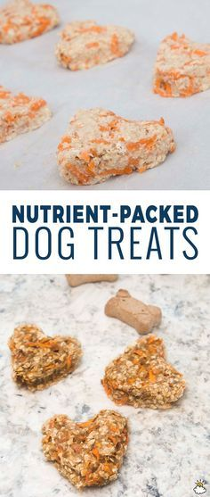 Homemade Dog Food Nutrient-Packed Dog Treats Are A Healthy Way To Spoil Your Pet Change Description - Nutrient-Packed Dog Treats Are A Healthy Way To Spoil Your Pet Puppy Treats, Diy Dog Treats, Healthy Dog Treats, Healthy Pets, Horse Treats, Happy Healthy, Dog Biscuit Recipes, Dog Treat Recipes, Dog Food Recipes