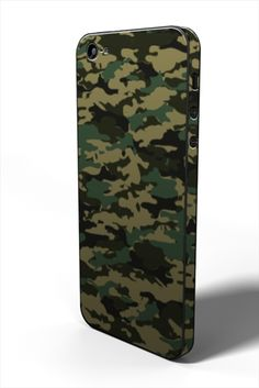 <Jungle (ジャングル迷彩) for iPhone 5> #iphone #tech #case #skin #accessory #fashion #geek #sexy #apple #technology #products #design #camouflage